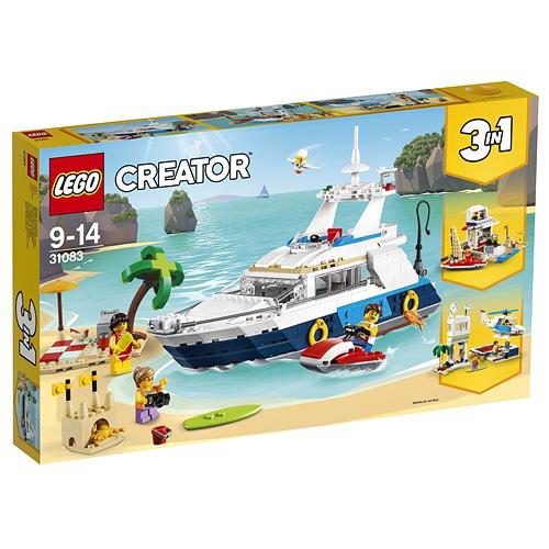 Stavebnice LEGO Creator Dobrodružná plavba, 597 dílků