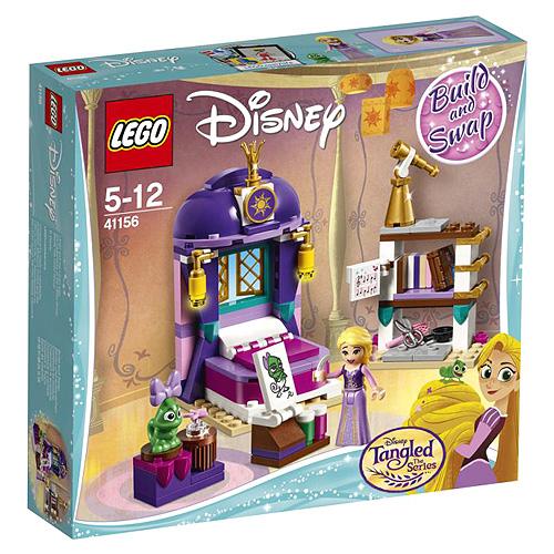 Stavebnice LEGO Disney Princess Locika a její hradní ložnice, 156 dílků
