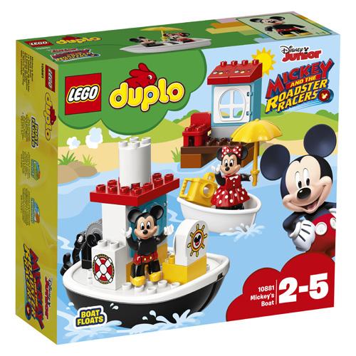 Stavebnice LEGO Duplo Mickeyho loďka, 28 dílků