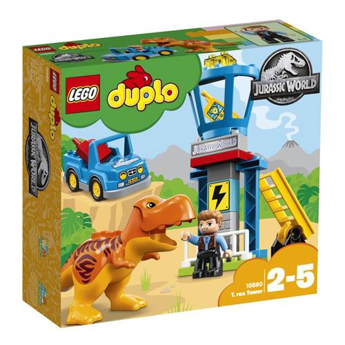 Stavebnice LEGO Duplo T-Rex a věž, 22 dílků