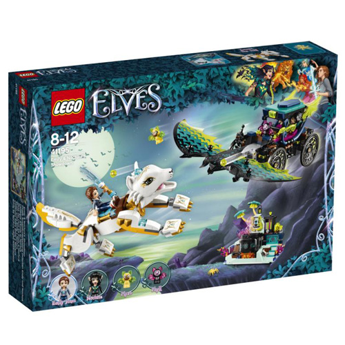 Stavebnice LEGO Elves Souboj Emily a Noctury, 650 dílků