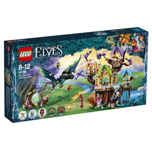 Stavebnice LEGO Elves Útok stromových netopýrů na elfí hvězdu, 883 dílků