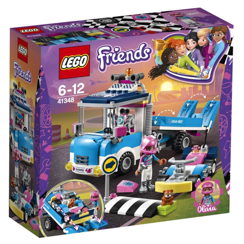 Stavebnice LEGO Friends Servisní vůz, 247 dílků