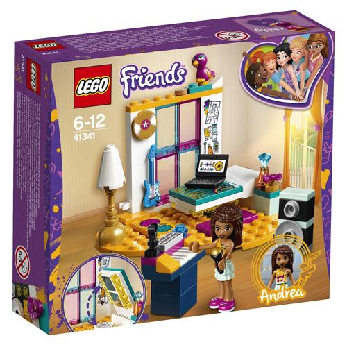 Stavebnice LEGO Friends Andrea a její pokojíček, 85 dílků
