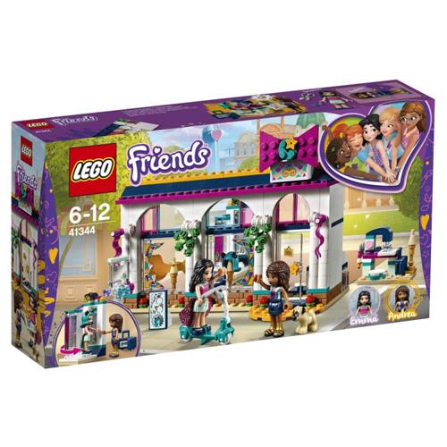 Stavebnice LEGO Friends Andrea a její obchod s módními doplňky, 294 dílků