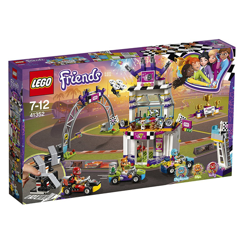 Stavebnice LEGO Friends Velký závod, 648 dílků