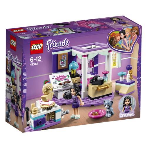 Stavebnice LEGO Friends Ema a její luxusní pokojíček, 183 dílků