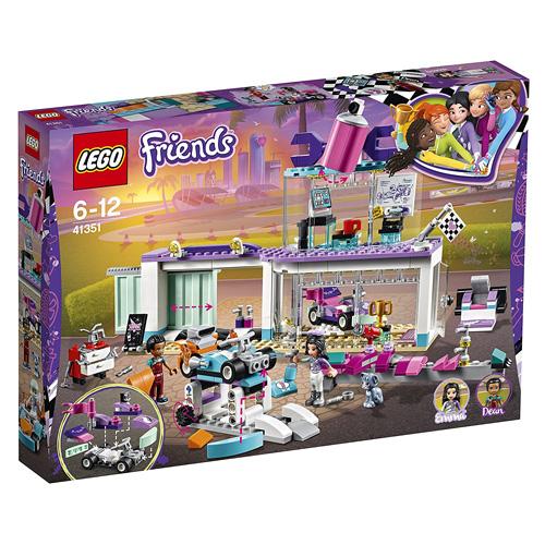 Stavebnice LEGO Friends Tuningová dílna, 413 dílků