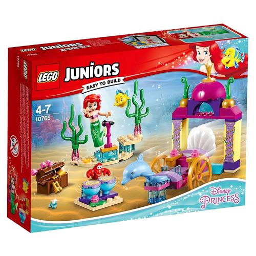 Stavebnice LEGO Juniors Princess Ariel a koncert pod vodou, 92 dílků