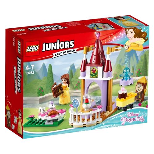 Stavebnice LEGO Juniors Princess Bellin čas na pohádku, 87 dílků