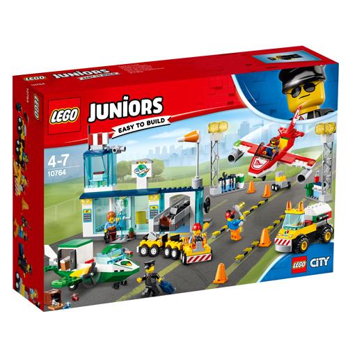 Stavebnice LEGO Juniors City Hlavní městské letiště, 376 dílků