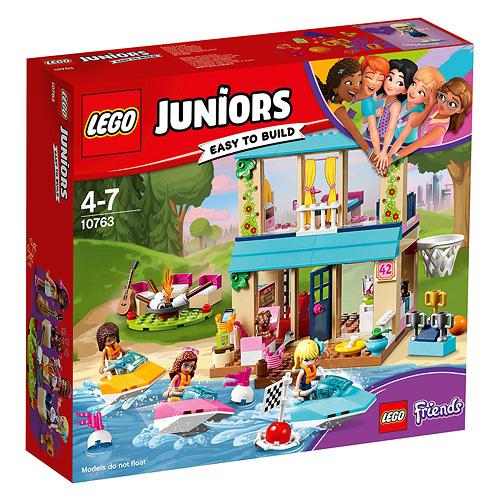 Stavebnice LEGO Juniors Friends Stephanie a její dům u jezera, 215 dílků