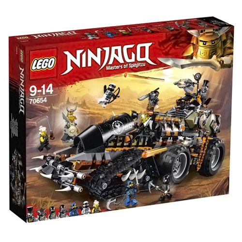 Stavebnice LEGO Ninjago Dieselnaut, 1179 dílků