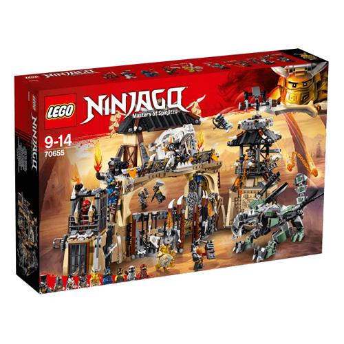 Stavebnice LEGO Ninjago Dračí jáma, 1660 dílků