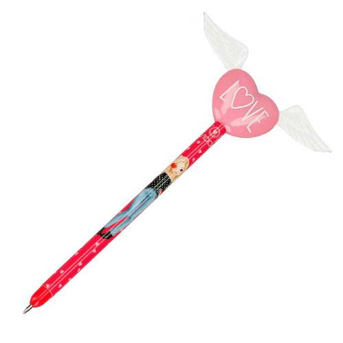 Kuličkové pero Top Model ASST Love, srdce s křídly