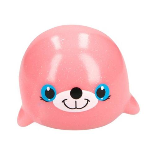 Zvířátko do vody Snukis ASST Růžový tuleň