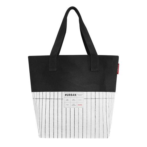 Nákupní taška Reisenthel Bílo-černá | #urban bag paris