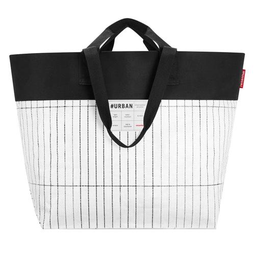 Nákupní taška Reisenthel Bílo-černá | #urban bag tokyo
