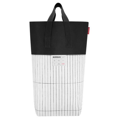 Hranatý koš Reisenthel Bílo-černý | #urban laundry tokyo