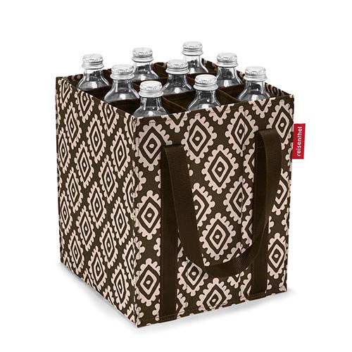 Taška na láhve Reisenthel Moka s diamanty | bottlebag