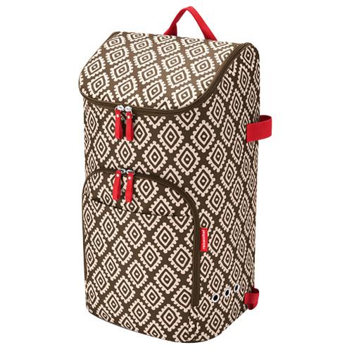 Nákupní batoh Reisenthel Moka s diamanty | citycruiser bag