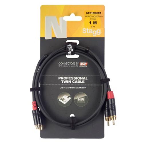 Rozbočovací kabel Stagg NTC1CMCFR