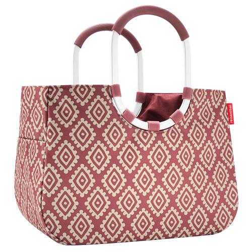 Nákupní taška Reisenthel Růžová s diamanty | loopshopper L