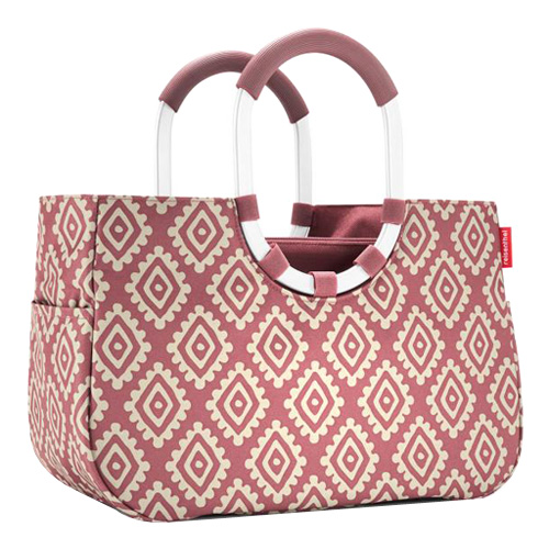 Nákupní taška Reisenthel Růžová s diamanty   loopshopper M