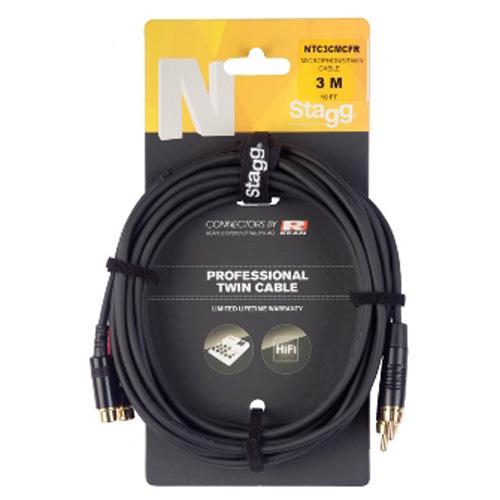 Rozbočovací kabel Stagg NTC3CMCFR