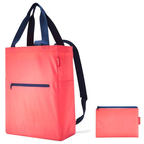 Nákupní taška 2v1 Reisenthel Korálová | mini maxi 2in1