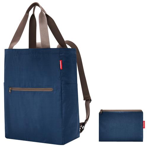 Nákupní taška 2v1 Reisenthel Tmavě modrá   mini maxi 2in1
