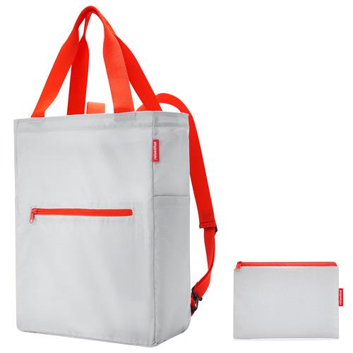 Nákupní taška 2v1 Reisenthel Světle šedá | mini maxi 2in1