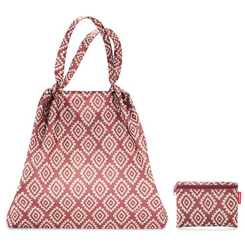 Skládací taška Reisenthel Růžová s diamanty | mini maxi loftbag