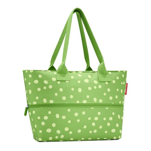 Nákupní taška Reisenthel Zelená s puntíky | shopper e1