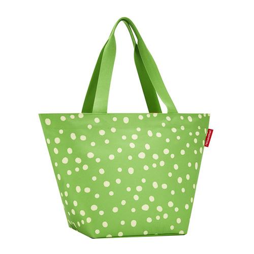 Nákupní taška Reisenthel Zelená s puntíky | shopper M
