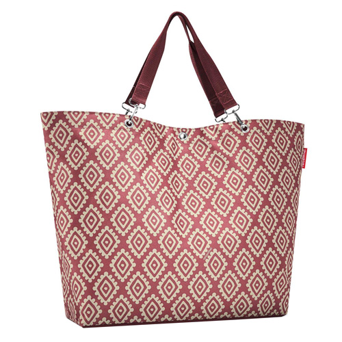 Nákupní taška Reisenthel Růžová s diamanty | shopper XL