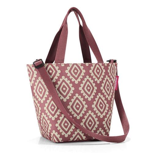 Nákupní taška Reisenthel Růžová s diamanty | shopper XS