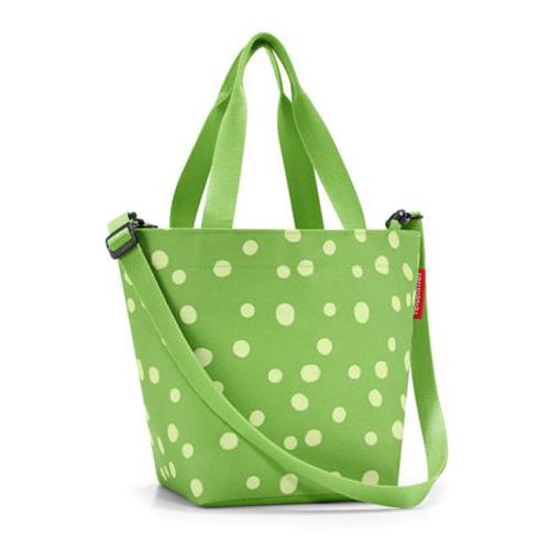 Nákupní taška Reisenthel Zelená s puntíky | shopper XS