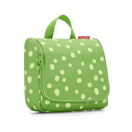 Cestovní toaletní taška Reisenthel Zelená s puntíky | toiletbag