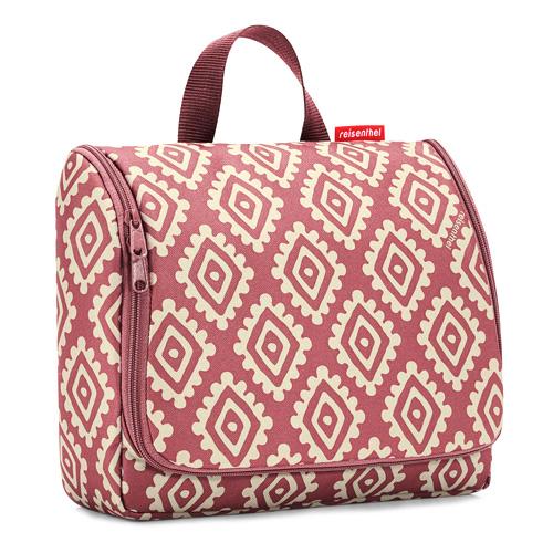 Cestovní toaletní taška Reisenthel Růžová s diamanty | toiletbag XL