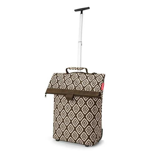 Nákupní taška Reisenthel Moka s diamanty | Trolley M