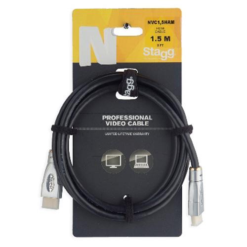 Propojovací kabel Stagg NVC1,5HAM