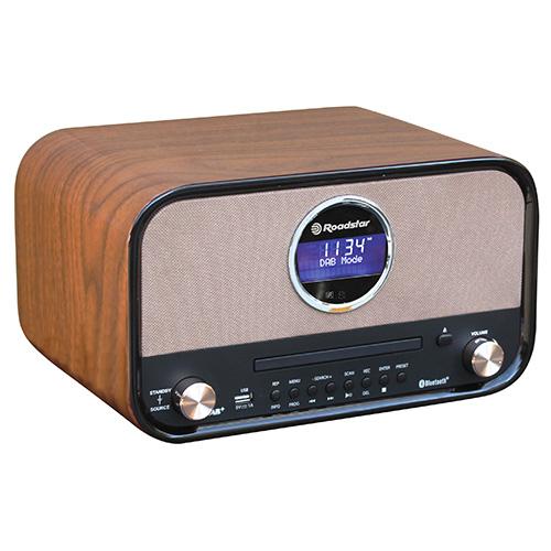 Rádiopřijímač Roadstar HRA-1782ND+BT, s přehrávačem CD/MP3