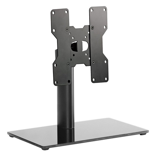 Meliconi Adjustable TV table stand to orient the TV without piercing