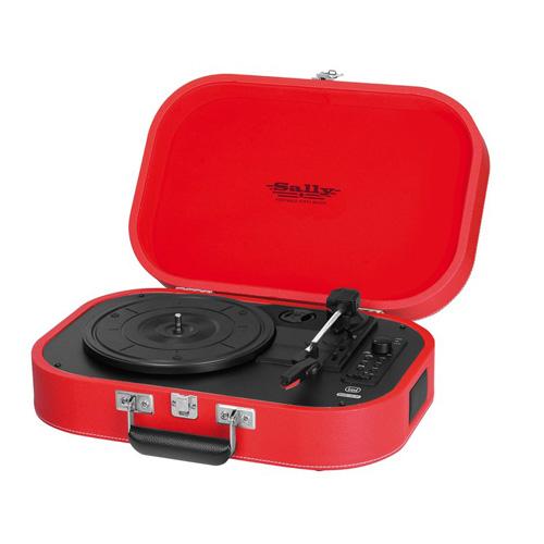 Gramofon Trevi TT 1020, červená