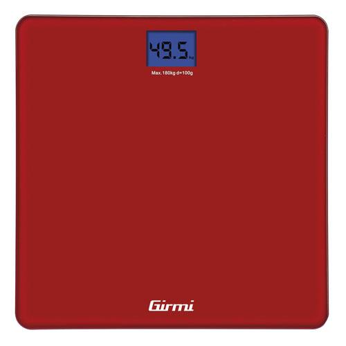 Girmi Bilancia PesaPersona  Elettronica 100gr/180kg    ROSSA