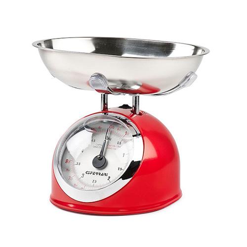 "G3Ferrari Bilancia Cucina Meccanica c/Ciotola  25gr/5kg   ""ASKA""  Colo"