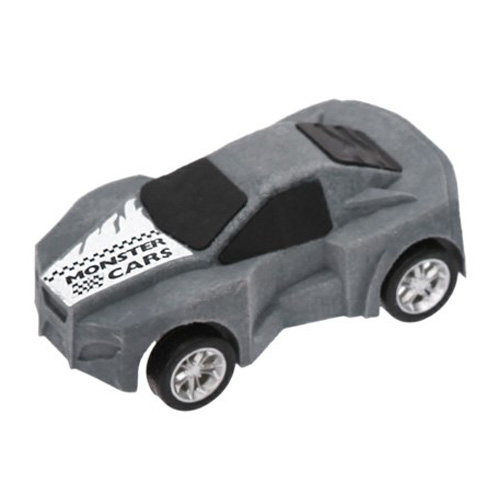 Guma ve tvaru auta Monster Cars ASST Barva šedá