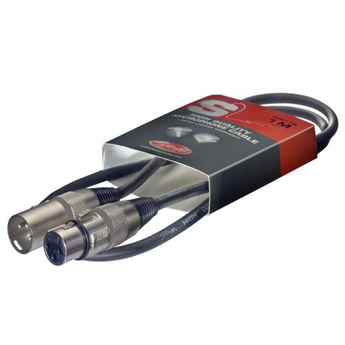 Mikrofonní kabel Stagg Délka 1 m