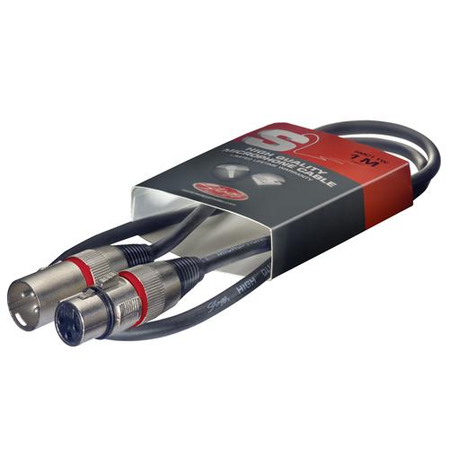 Mikrofonový kabel Stagg Délka 1 m